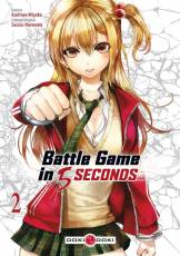 Couverture de l'album BATTLE GAME IN 5 SECONDS Tome #2 Volume 2