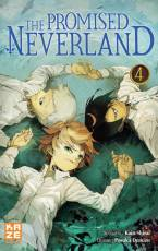 Couverture de l'album THE PROMISED NEVERLAND Tome #4 Volume 4