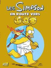 Couverture de l'album SIMPSON (LES) Tome #HS En route vers l'or