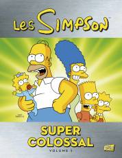 Couverture de l'album SIMPSON (LES) - SUPER COLOSSAL Tome #1 Volume 1