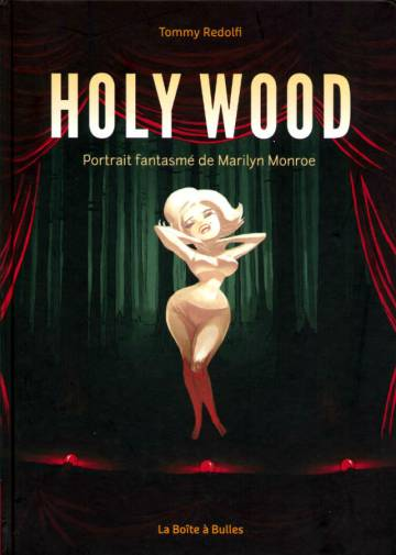 Couverture de l'album HOLY WOOD Portrait fantasmé de Marilyn Monroe
