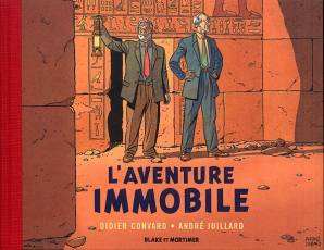Couverture de l'album BLAKE ET MORTIMER L'Aventure Immobile