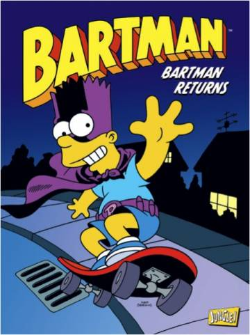 Couverture de l'album BARTMAN Tome #2 Bartman Returns