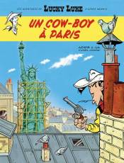 Couverture de l'album AVENTURES DE LUCKY LUKE (LES) Tome #8 Un cow-boy à Paris