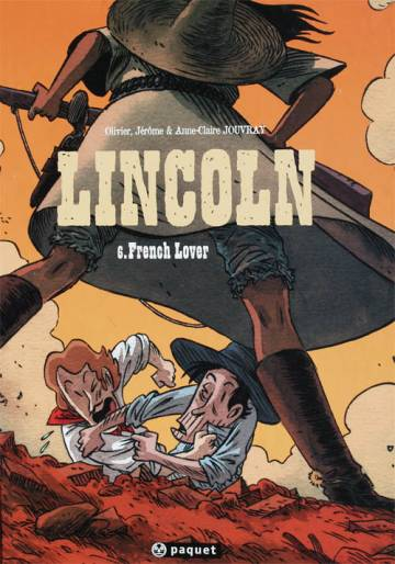 Couverture de l'album LINCOLN Tome #6 French lover