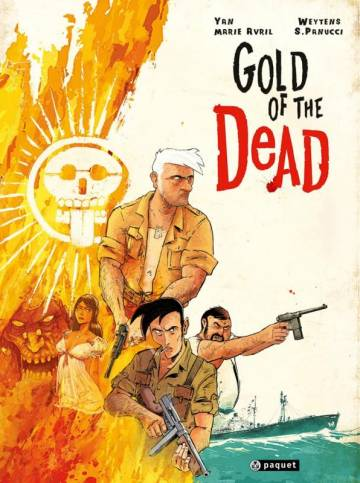 Couverture de l'album GOLD OF THE DEAD  Gold of the Dead