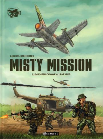 Couverture de l'album MISTY MISSION Tome #2 En enfer comme au paradis