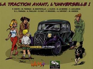 Couverture de l'album VIEUX TACOTS COLLECTION Tome #1 La Traction Avant, l'Universelle