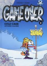 Couverture de l'album GAME OVER Tome #8 Cold Case Affaires glacées
