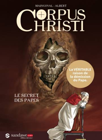 Couverture de l'album CORPUS CHRISTI Le secret des papes