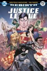 Couverture de l'album PRESSE JUSTICE LEAGUE REBIRTH Tome #2 Les Machines à détruire