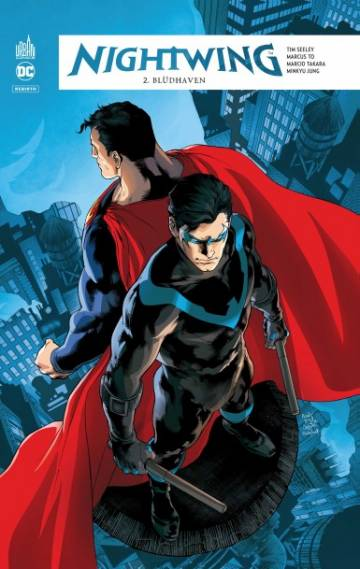 Couverture de l'album REBIRTH NIGHTWING Tome #2 Blüdhaven