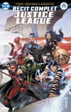 Couverture de l'album RECIT COMPLET JUSTICE LEAGUE  Tome #5 Titans : Bienvenue à Manhattan