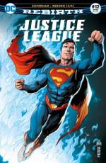 Couverture de l'album JUSTICE LEAGUE REBIRTH (PRESSE) Tome #12 Superman : Reborn - 3/3
