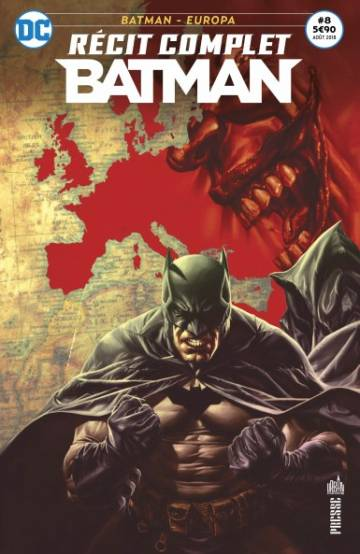 Couverture de l'album RECIT COMPLET BATMAN Tome #8 Batman - Europa