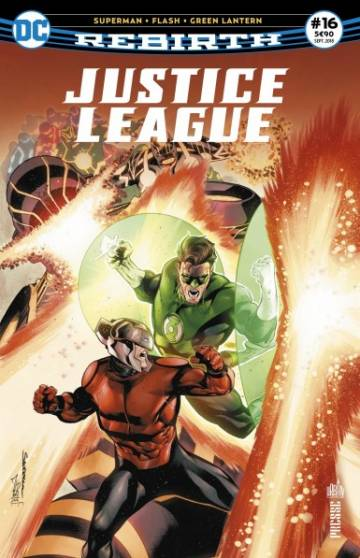 Couverture de l'album REBIRTH JUSTICE LEAGUE Tome #16 Numero 16