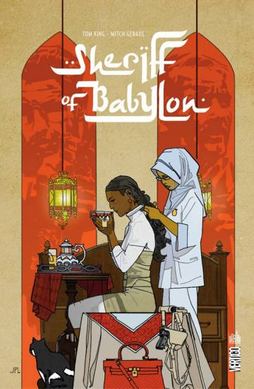 Couverture de l'album SHERIFF OF BABYLON Tome #1 Sheriff of Babylon