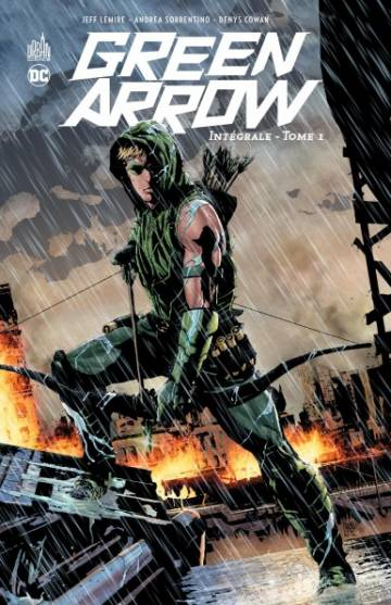 Couverture de l'album GREEN ARROW INTEGRALE Tome #1 Tome 1