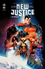 Couverture de l'album JUSTICE LEAGUE : NEW JUSTICE Tome #1 La Totalité