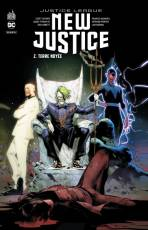Couverture de l'album JUSTICE LEAGUE : NEW JUSTICE Tome #2 Terre Noyée