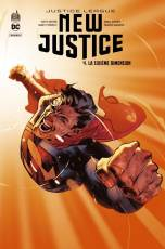 Couverture de l'album JUSTICE LEAGUE : NEW JUSTICE Tome #4 La Sixième Dimension