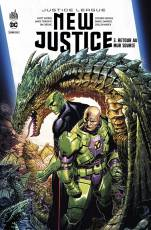 Couverture de l'album JUSTICE LEAGUE : NEW JUSTICE Tome #3 Retour au Mur Source