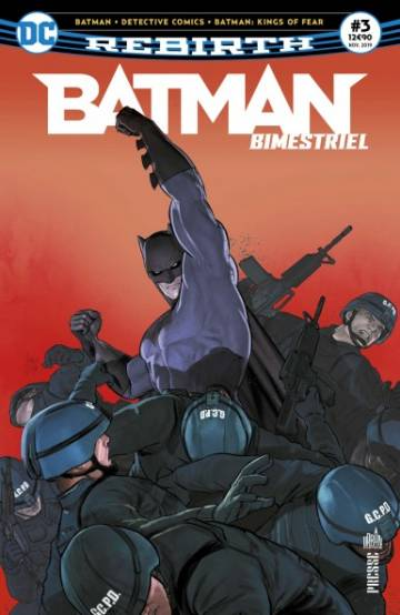 Couverture de l'album BATMAN BIMESTRIEL Tome #3 Batman : Kings of fear