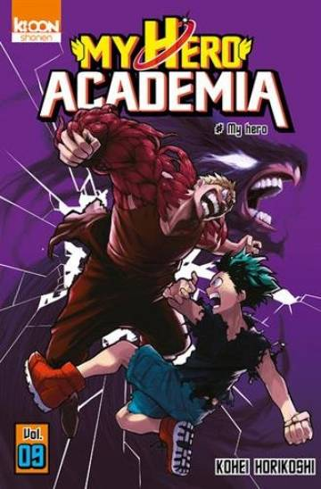 Couverture de l'album MY HERO ACADEMIA Tome #9 My Hero