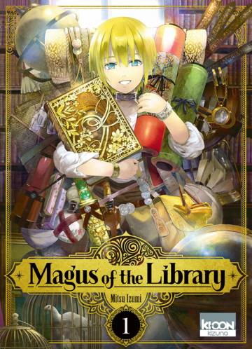 Couverture de l'album MAGUS OF THE LIBRARY Tome #1 Volume 1