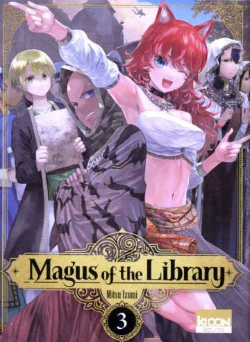 Couverture de l'album MAGUS OF THE LIBRARY Tome #3 Volume 3