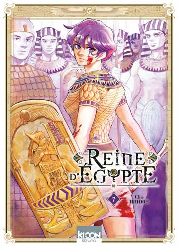 Couverture de l'album REINE D'EGYPTE  Tome #7 Volume 7