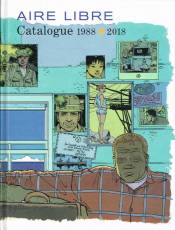 Couverture de l'album AIRE LIBRE CATALOGUE 1988 - 2018 Catalogue 1988 - 2018