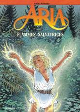 Couverture de l'album ARIA Tome #39 Flammes salvatrices
