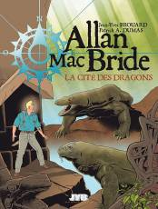 Couverture de l'album ALLAN MAC BRIDE Tome #4 La cité des dragons
