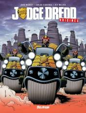 Couverture de l'album JUDGE DREDD : ORIGINES Judge Dredd : Origines