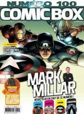 Couverture de l'album COMIC BOX Tome #100 Avril 2016