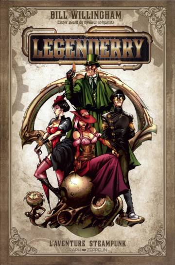 Couverture de l'album LEGENDERRY Tome #1 L'aventure steampunk