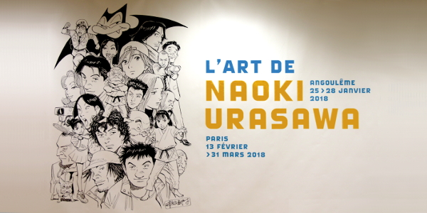 Salons, expositions bande-dessinée, Exposition Urasawa Angoulême 2018