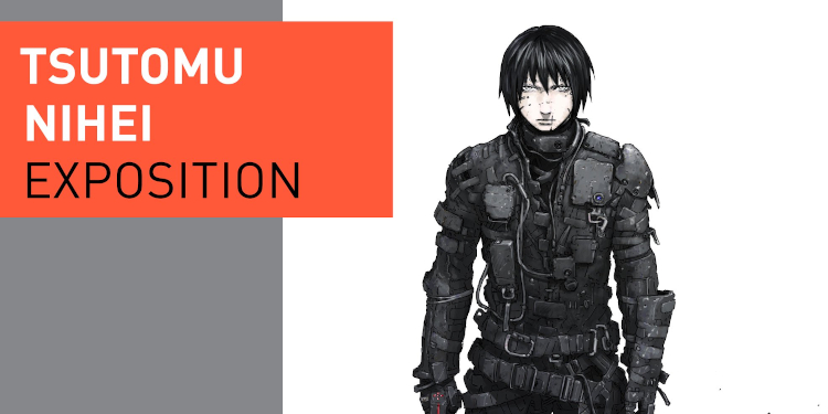 Salons, expositions bande-dessinée, Exposition Tsutomu Nihei Angoulême 2019