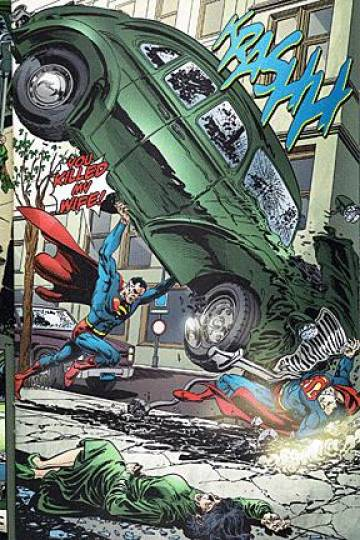 Extrait de l'album BATMAN & SUPERMAN Tome #10 3/4 Infinite Crisis