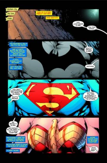 Extrait de l'album DC UNIVERSE PRESENTE Justice League of America