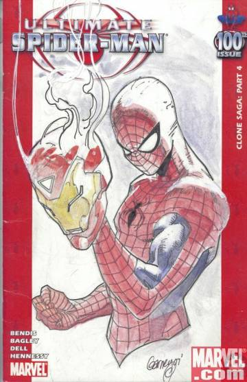 Extrait de l'album THE ULTIMATE SPIDER-MAN 100 PROJECT The Ultimate Spider-Man 100 project