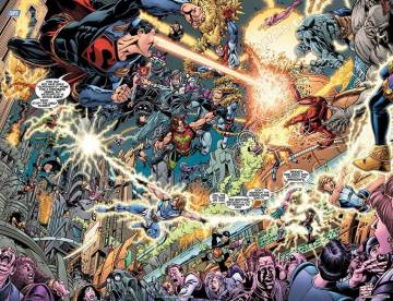 Extrait de l'album FINAL CRISIS Legion of 3 Worlds