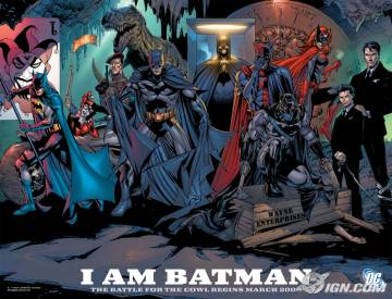 Extrait de l'album BATMAN Battle for the cowl