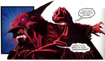 Extrait de l'album BATMAN Tome #  Crimson Mist