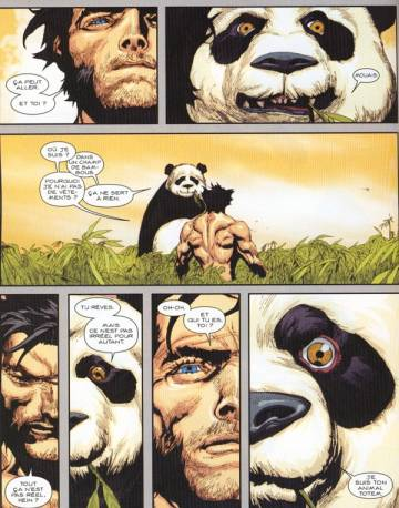Extrait de l'album ULTIMATE HORS-SERIE Tome #9 Ultimate Wolverine vs Hulk