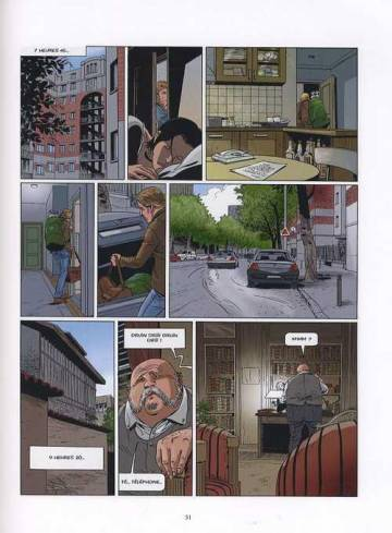 Extrait de l'album LE TRIANGLE SECRET Tome #7 L'Imposteur
