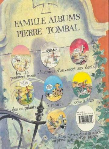 Extrait de l'album PIERRE TOMBAL Tome #7 Cas d'os surprise