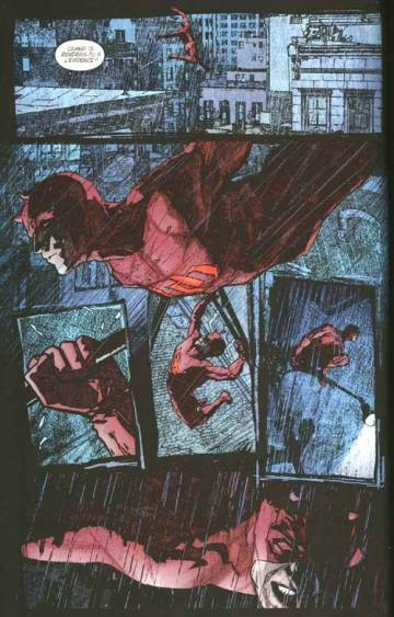 Extrait de l'album DAREDEVIL Tome #5 Le scoop