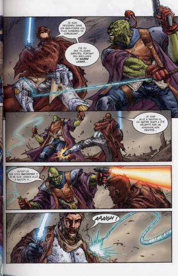 Extrait de l'album STAR WARS - CLONE WARS Tome #8 Obsession
